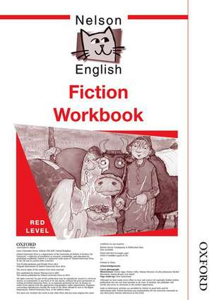 Nelson English - Red Level Fiction Workbook (X10)