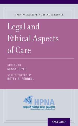 Legal and Ethical Aspects of Care de Nessa Coyle
