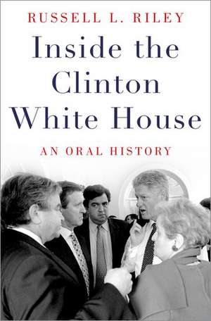 Inside the Clinton White House