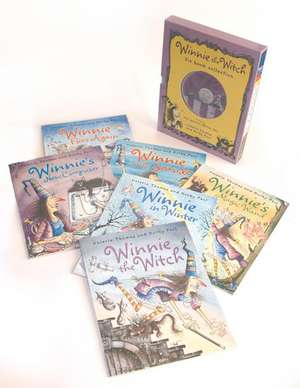 Winnie the Witch Six Book and Two Audio CD Collection