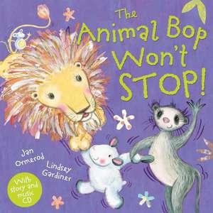 The Animal Bop Won't Stop PB + CD de Jan Ormerod