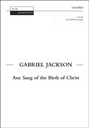 Ane Sang of the Birth of Christ de Gabriel Jackson