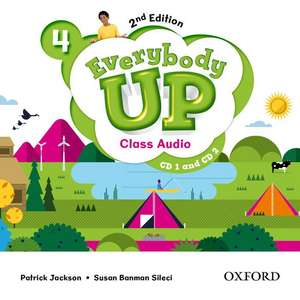 Everybody Up: Level 4: Class Audio CD: Linking your classroom to the wider world de Patrck Jackson