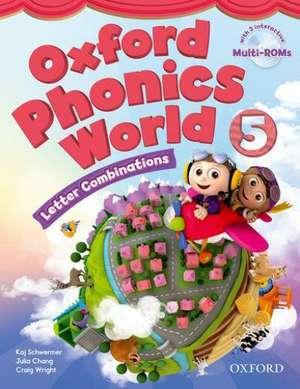 Oxford Phonics World: Level 5: Student Book with MultiROM