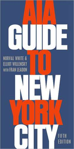 AIA Guide to New York City de Norval White