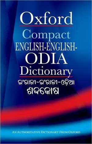 Compact English-English-Odia Dictionary de B. K. Tripathy