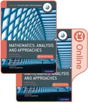 Oxford IB Diploma Programme: IB Mathematics: analysis and approaches, Higher Level, Print and Enhanced Online Course Book Pack de Marlene Torres Skoumal