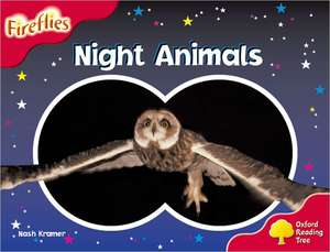 Oxford Reading Tree: Level 4: Fireflies: Night Animals