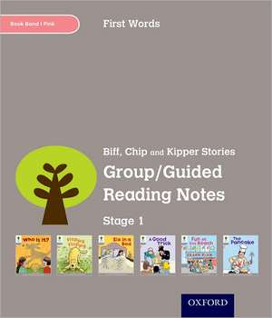 Oxford Reading Tree: Level 1: First Words: Group/Guided Reading Notes de Roderick Hunt