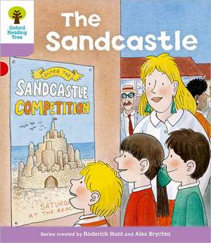 Oxford Reading Tree: Level 1+: More First Sentences B: Sandcastle de Roderick Hunt
