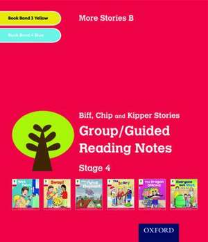 Oxford Reading Tree: Level 4: More Stories B: Group/Guided Reading Notes de Roderick Hunt