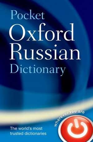 Pocket Oxford Russian Dictionary de Della Thompson