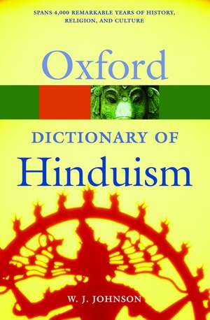 A Dictionary of Hinduism imagine