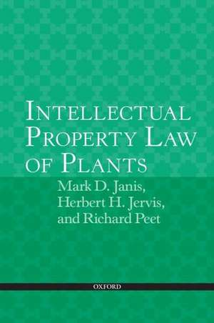 Intellectual Property Law of Plants imagine