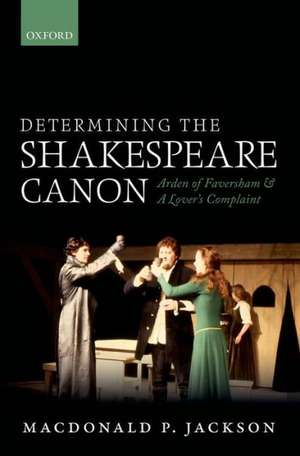 Determining the Shakespeare Canon