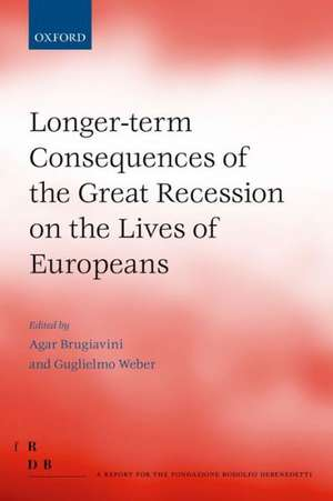 Longer-term Consequences of the Great Recession on the Lives of Europeans imagine