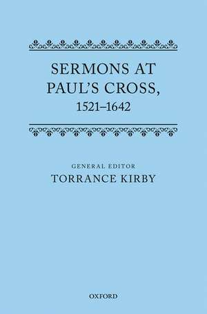 Sermons at Paul's Cross, 1521-1642