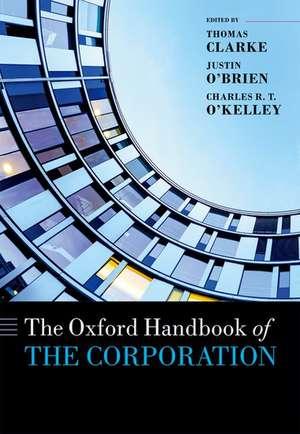 The Oxford Handbook of the Corporation imagine