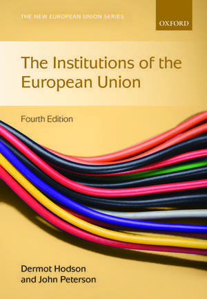 Institutions of the European Union de Dermot Hodson