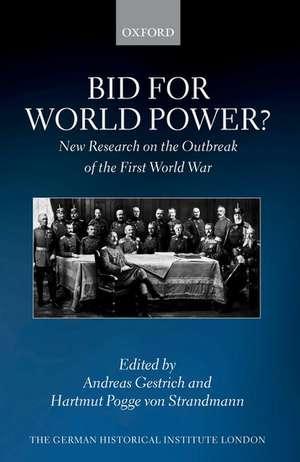 Bid for World Power?
