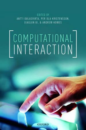 Computational Interaction de Antti Oulasvirta
