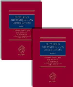Oppenheim's International Law: United Nations imagine