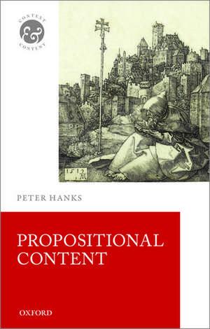 Propositional Content de Peter Hanks