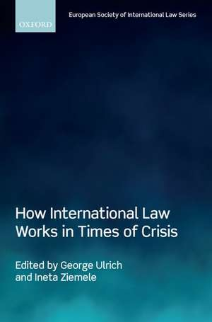 How International Law Works in Times of Crisis de George Ulrich