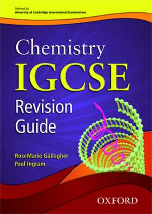 Cambridge Chemistry IGCSE® Revision Guide
