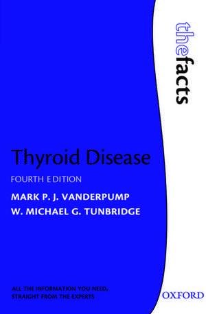 Thyroid Disease de Mark P.J Vanderpump