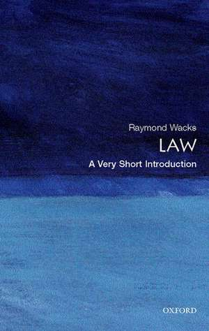Law: A Very Short Introduction imagine