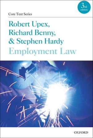 Employment Law de Robert Upex