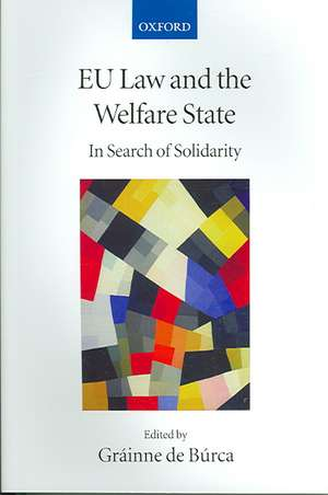 EU Law and the Welfare State: In Search of Solidarity de Gráinne de Búrca