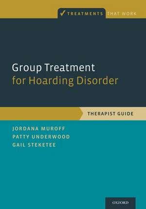 Group Treatment for Hoarding Disorder