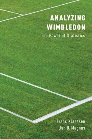 Analyzing Wimbledon: The Power of Statistics de Franc Klaassen