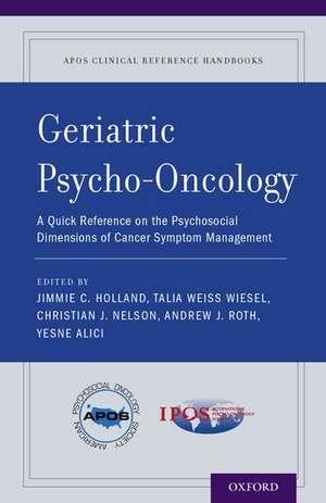 Geriatric Psycho-Oncology