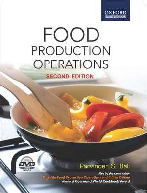 Food Production Operations de Parvinder S. Bali