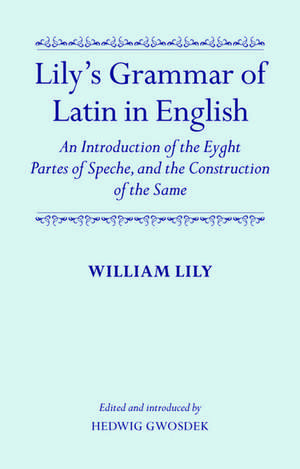 Lily's Grammar of Latin in English