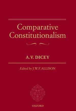Comparative Constitutionalism