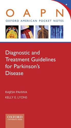 Diagnostic and Treatment Guidelines for Parkinson's Disease