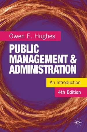 Public Management and Administration imagine