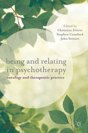Being and Relating in Psychotherapy