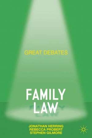 Great Debates in Family Law imagine