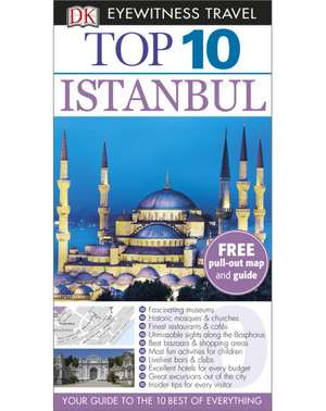 DK Eyewitness Top 10 Travel Guide Istanbul