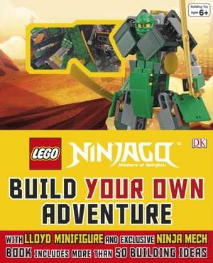 LEGO® NINJAGO® Build Your Own Adventure