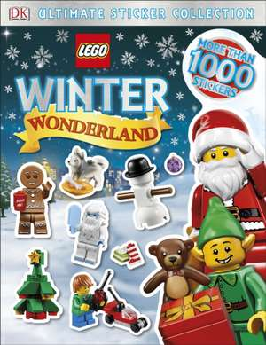 LEGO Winter Wonderland Ultimate Sticker Collection de DK