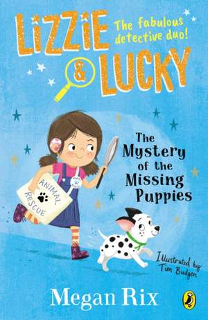 Lizzie and Lucky: The Mystery of the Missing Puppies imagine