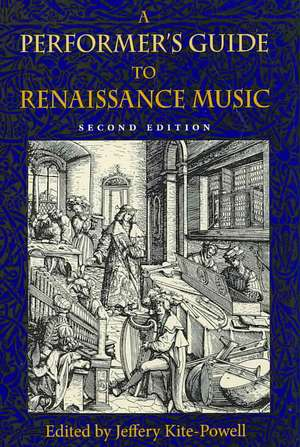 A Performer's Guide to Renaissance Music imagine