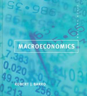 Macroeconomics 5e de Robert Barro