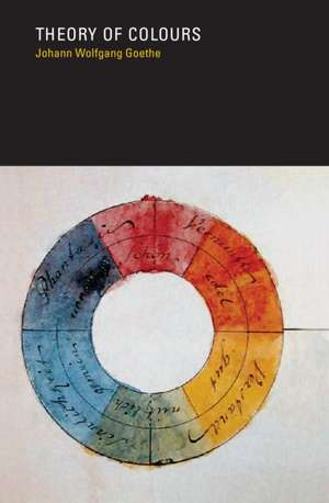 Theory of Colours de Johann Wolfgang Goethe